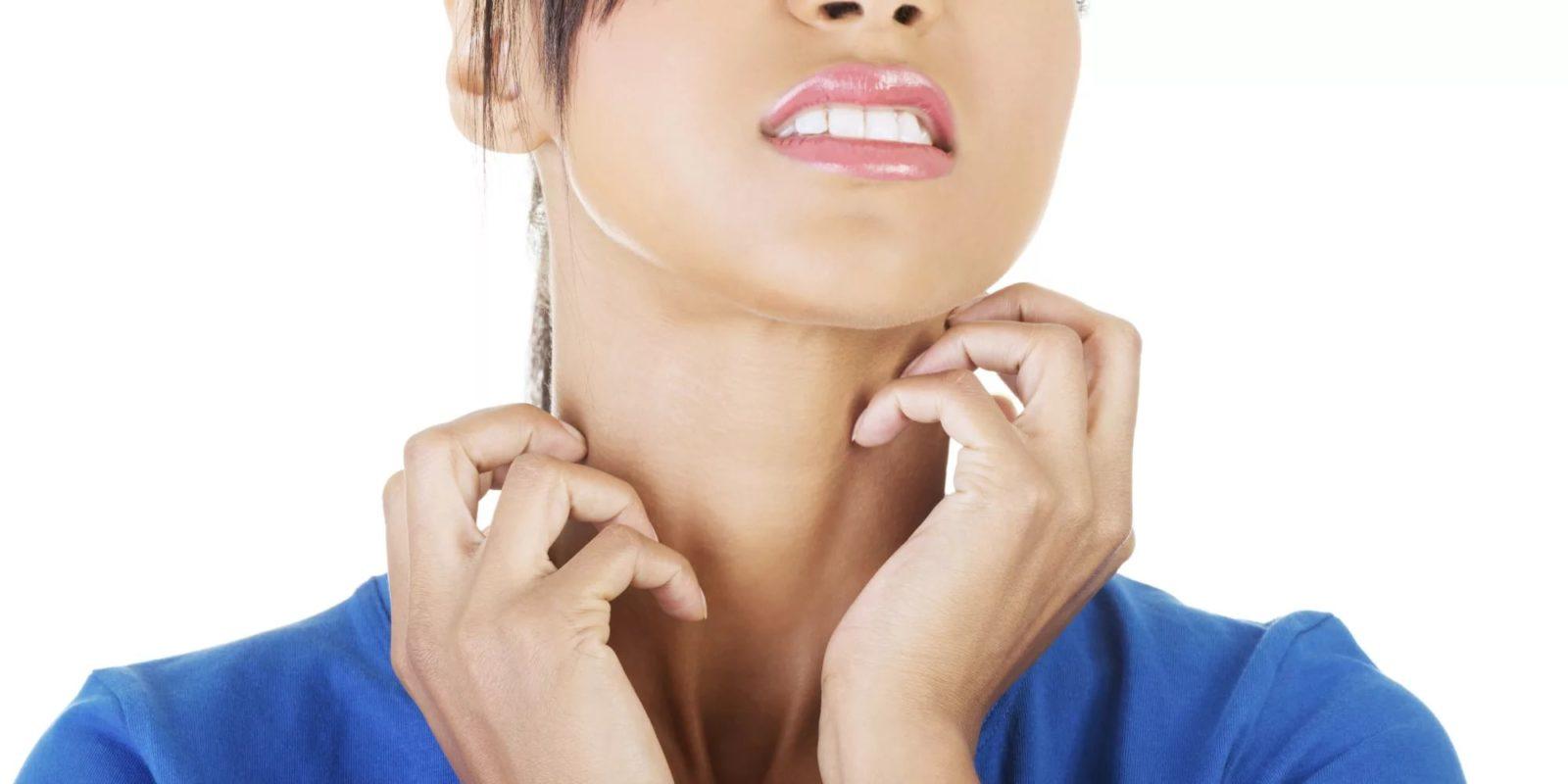 Ощущение зуба в горле