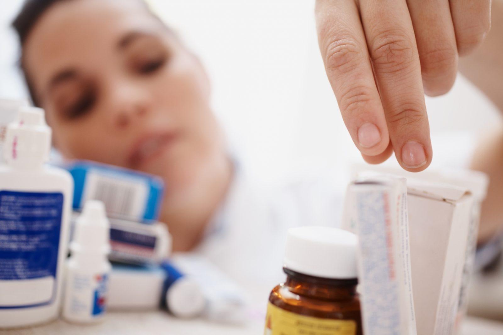Больная и препараты