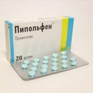 Пипольфен в таблетках
