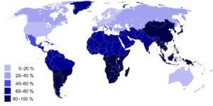 Статистика непереносимости лактозы