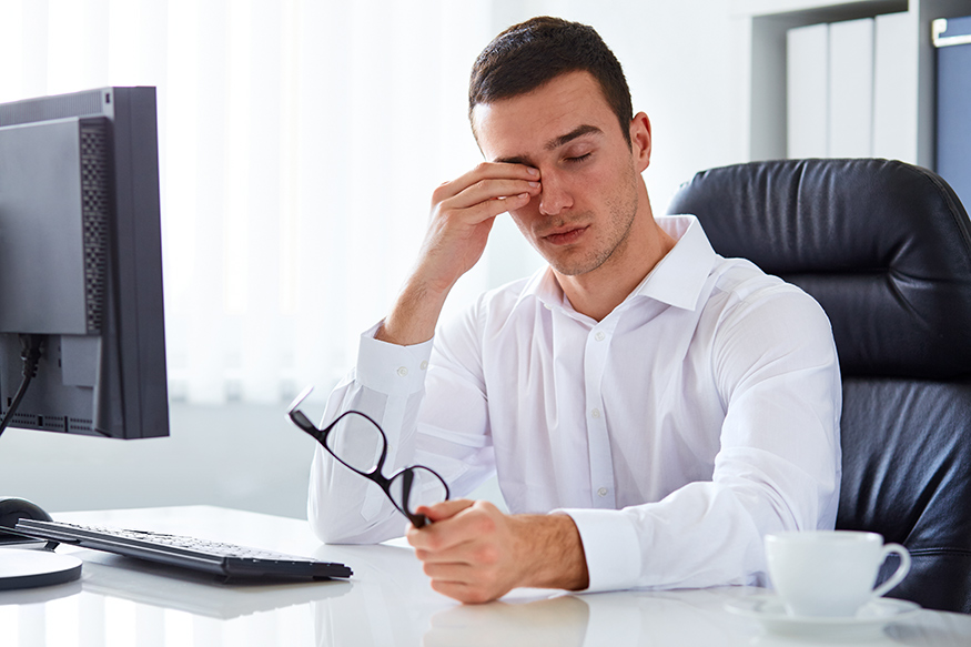 Уттмление на работе