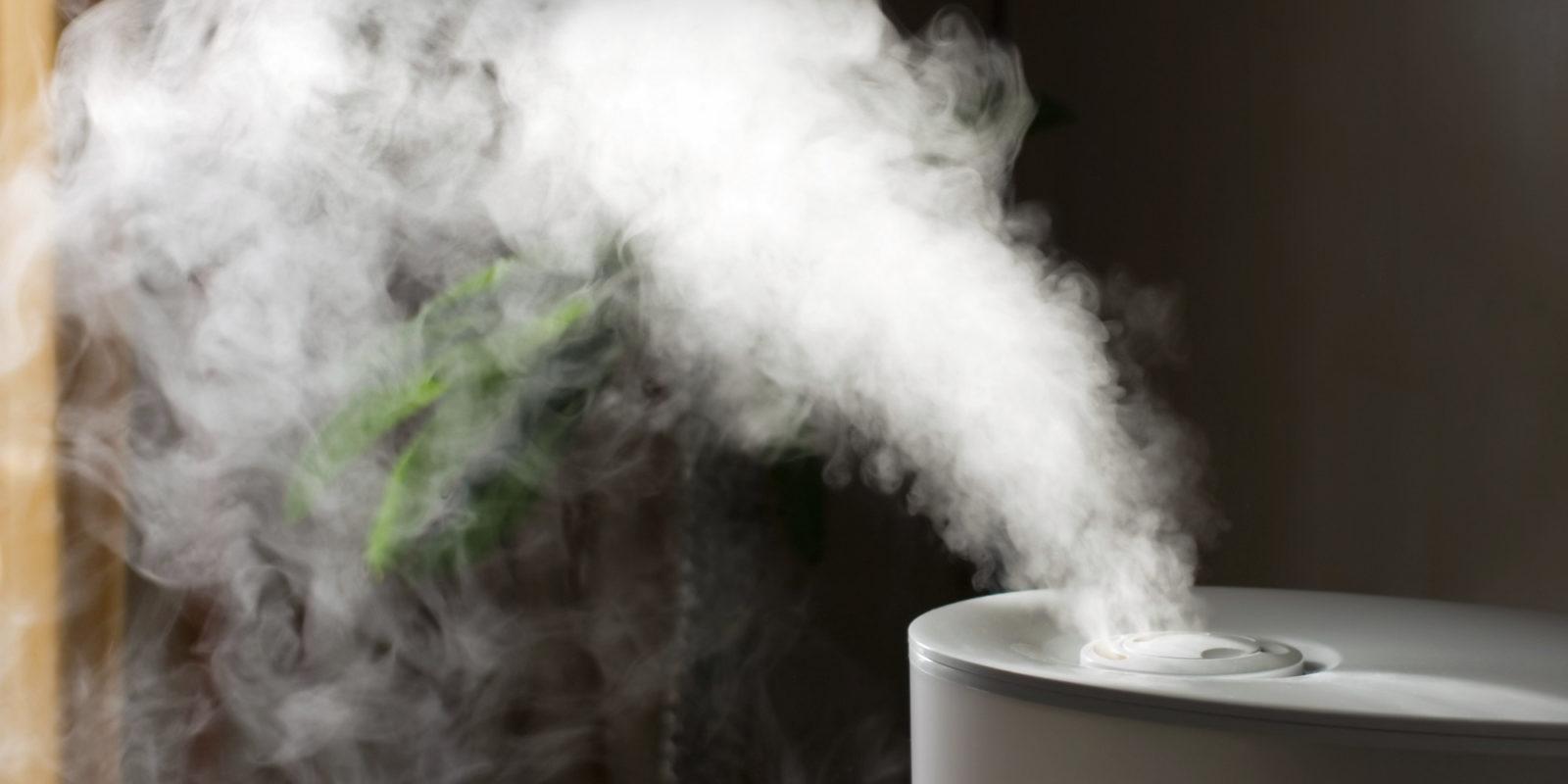 Специальное увлажнение воздуха для облегчения состояния