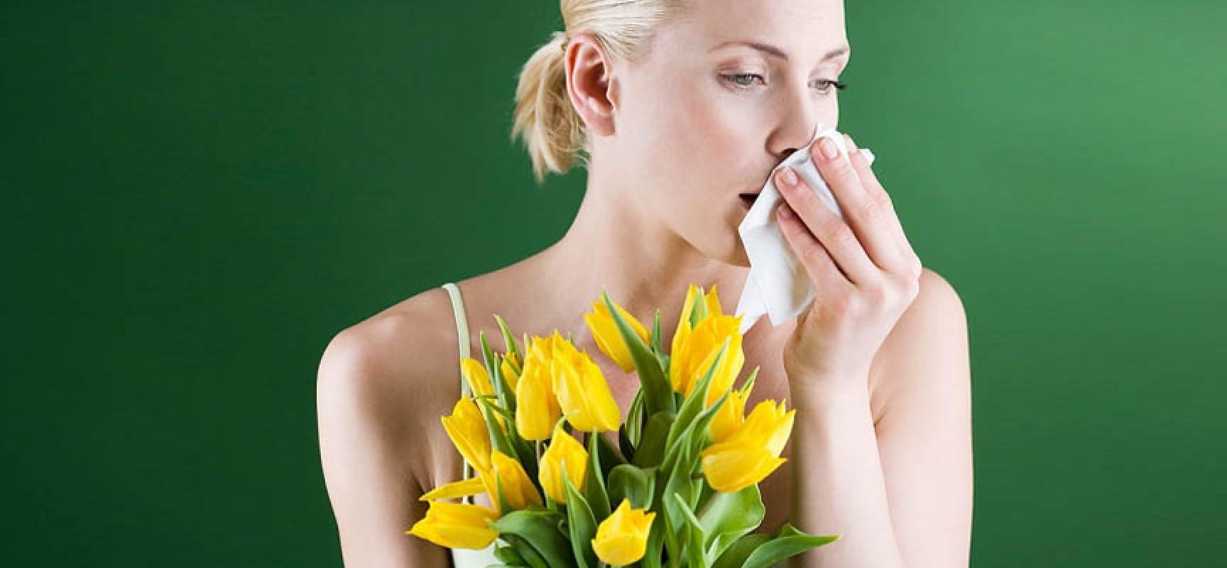 Насморк и желтые цветы