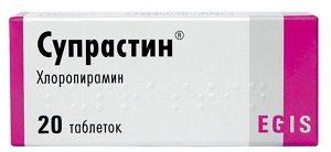 Супрастин от аллергии