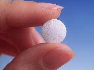 Аспирин таблетка