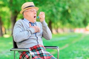 Приступ астмы у пожилого