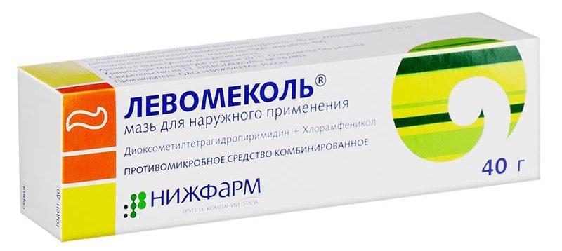 Левомеколь препарат