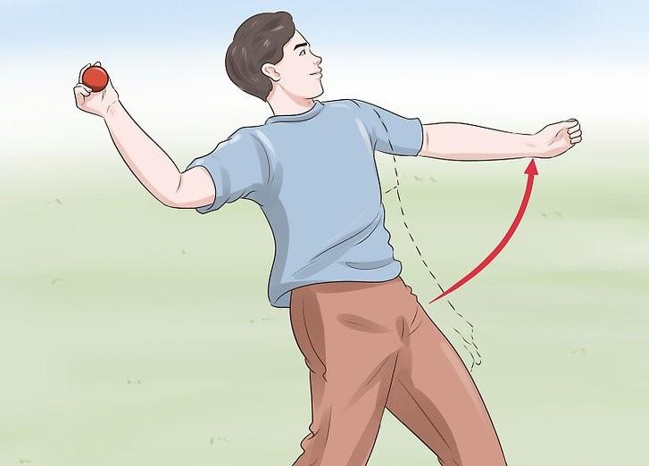 Бросок мяча с плеча