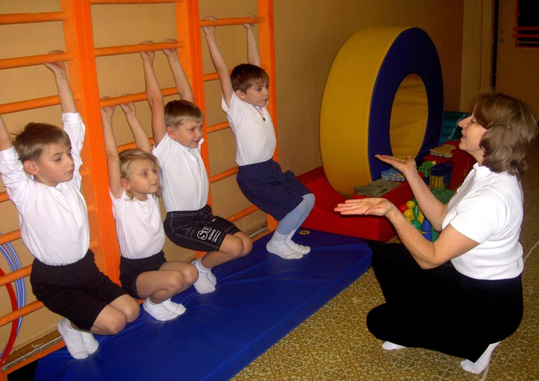 Занятия детей
