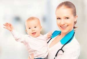 Осмотр ребенка с диатезом