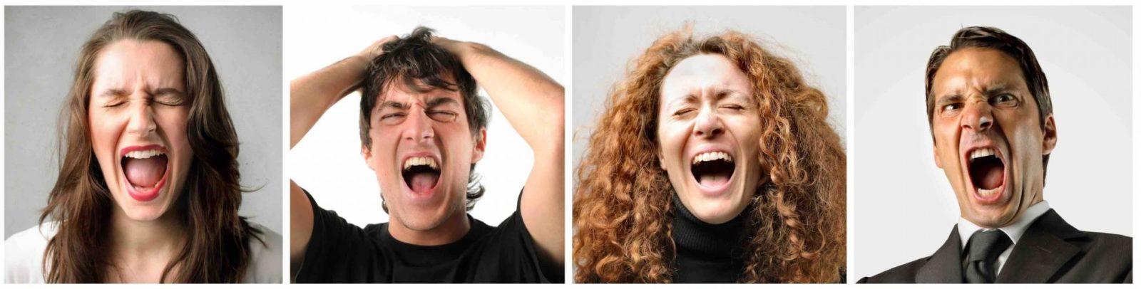 Состояния гнева как результат идиосинкразии