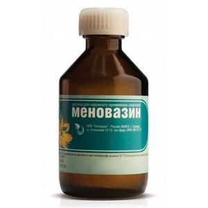 Меновазин для лечения крапивницы