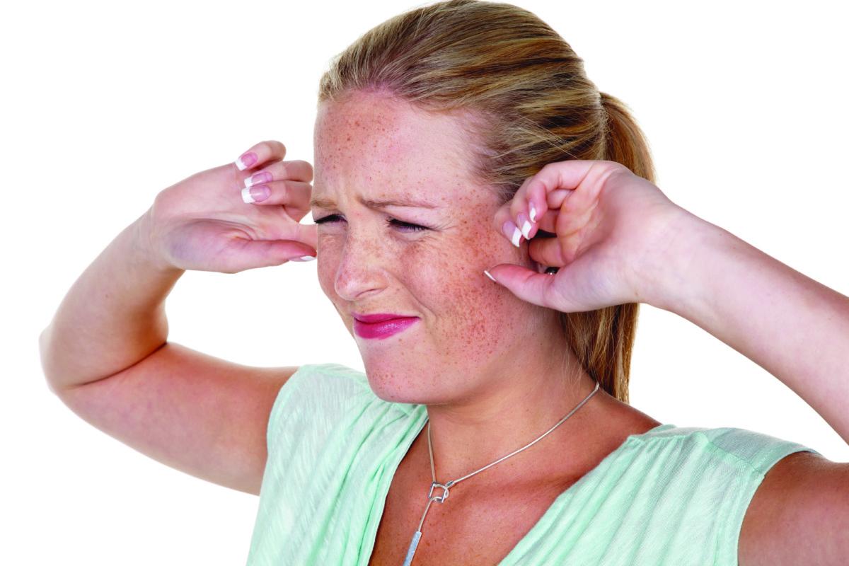 Реакция на пыльцу с шумом в ушах