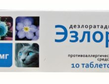 Упаковка Эзлора