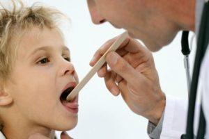 Проверка горла