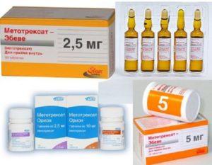 метотрексат при псориазе применение и отзывы