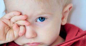 Трет глаза