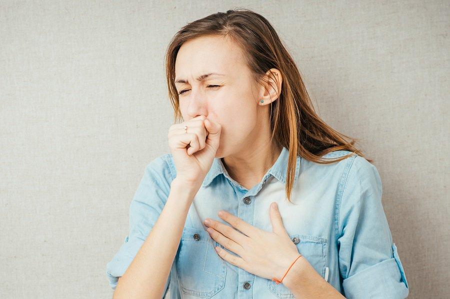 Сильный аллергический кашель