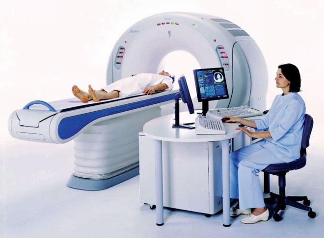 Процедура компьютерной томографии