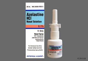 спрей назальный азеластин